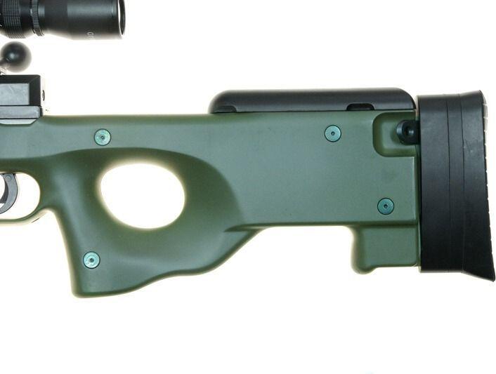 WELL manuálna sniperka L96A1 /w bipod & scope - olive (MB01C-OLV)