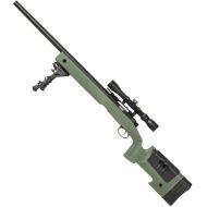 SPECNA ARMS Sniper Rifle CORE RIS /w scope & bipod - olive (SA-S02)