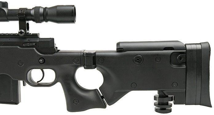 WELL manuálna sniperka M24A1 /w bipod & scope, MB4403D