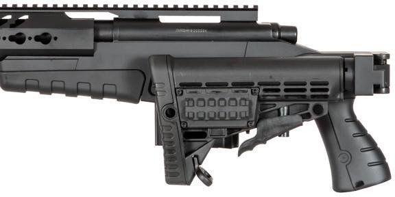 WELL manuálna sniperka MB08, tan