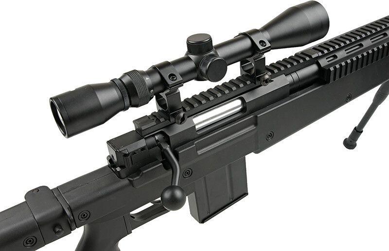 WELL manuálna sniperka MB4406D - čierna (MB4406D)