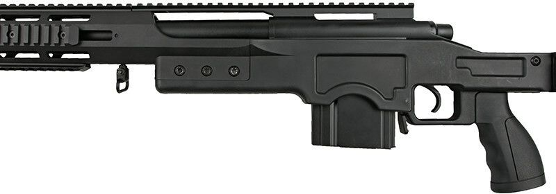 WELL manuálna sniperka (MB4411A) - Čierna