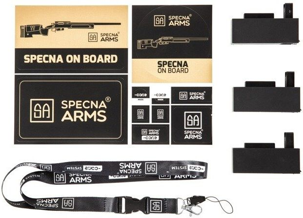 Airsoft SA Sniper Rifle CORE RIS, black, SA-S03