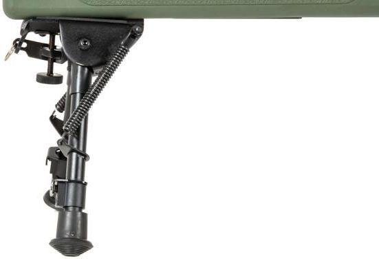 Airsoft SA Sniper Rifle CORE RIS /w scope & bipod, olive, SA-S03