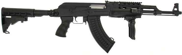 CYMA AK-47 RIS Tactical /w M4 stock, CM028C