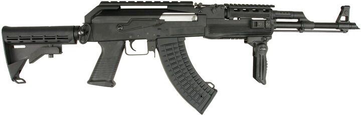 CYMA AK-47 RIS Tactical /w M4 stock, CM039C