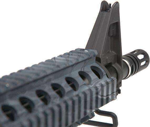"""SA M4A1 Keymod 8"""" SAEC Half Tan /w crane stock, SA-B12"""