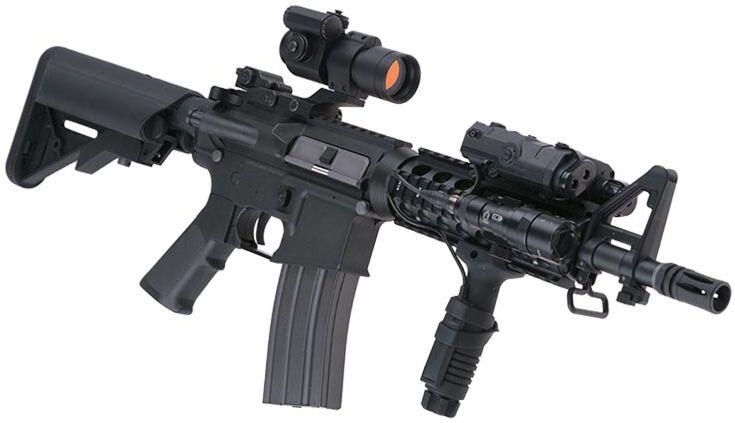 SA M4A1 CORE RIS CQBR /w crane stock, SA-C04