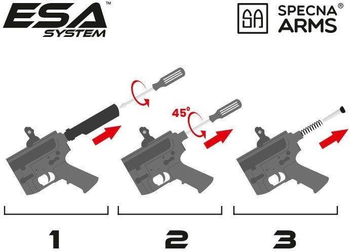 SPECNA ARMS AR-15 RRA PDW EDGE - half tan (SA-E10-HT)