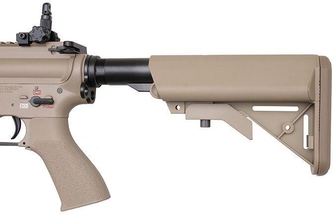 G&G M4A1 RIS Tan /w crane stock