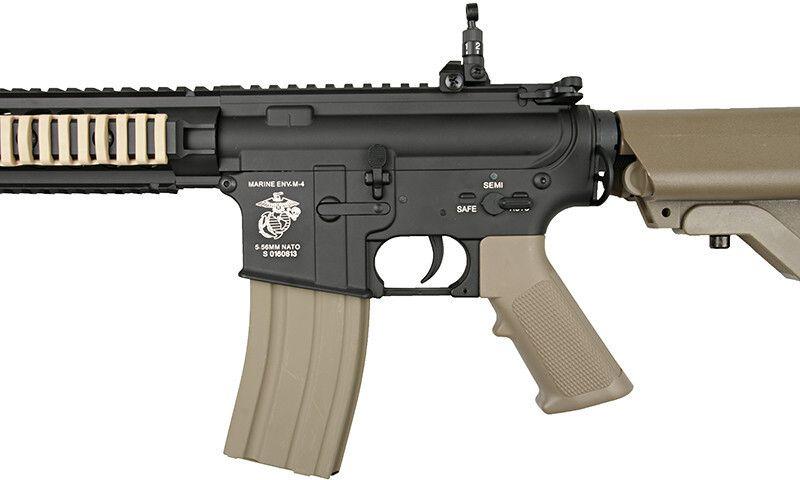 SA M4A1 RIS Half Tan /w crane stock, SA-B04-HT