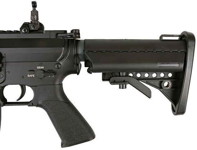 SA M4A1 RIS /w CTR stock, SA-V01