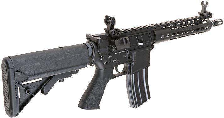 """SA M4A1 KeyMod 9"""" /w crane stock, SA-V04"""