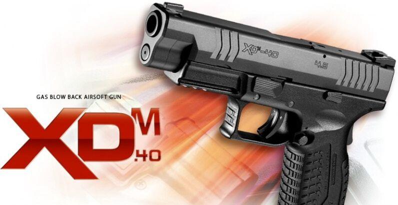 TM GBB XDM-40, hop