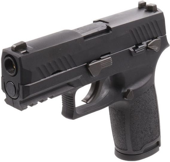 WE GBB SIG F18 (M18), čierny záver - čierna
