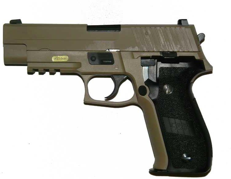 WE GBB SIG P226 mk. 25 - tan