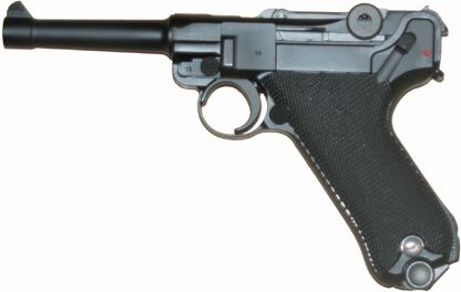 Airsoft WE GBB Luger P08