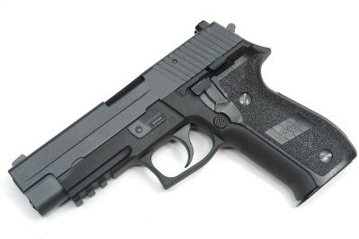 Airsoft WE GBB P226 MK25 - čierna