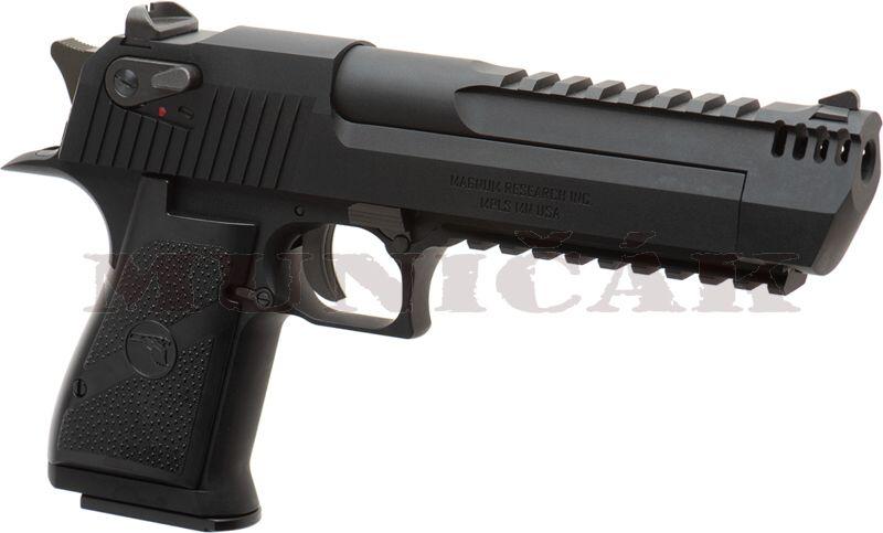 WE GBB Desert Eagle L6 .50 AE Full Metal - čierny (30231)