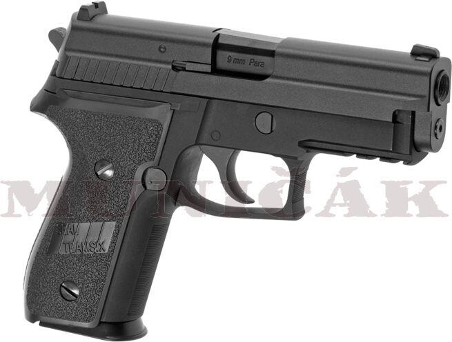 WE GBB P229R Full Metal - čierna