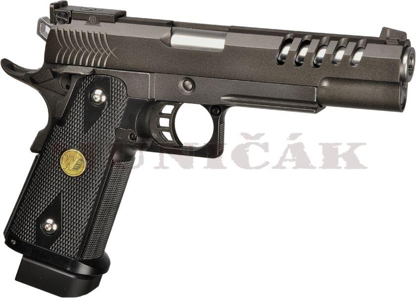 WE GBB Hi-Capa 5.1 K Full Metal - čierna