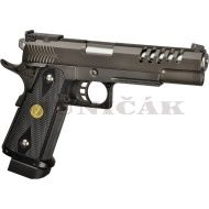 WE GBB Hi-Capa 5.1 K Full Metal - čierna