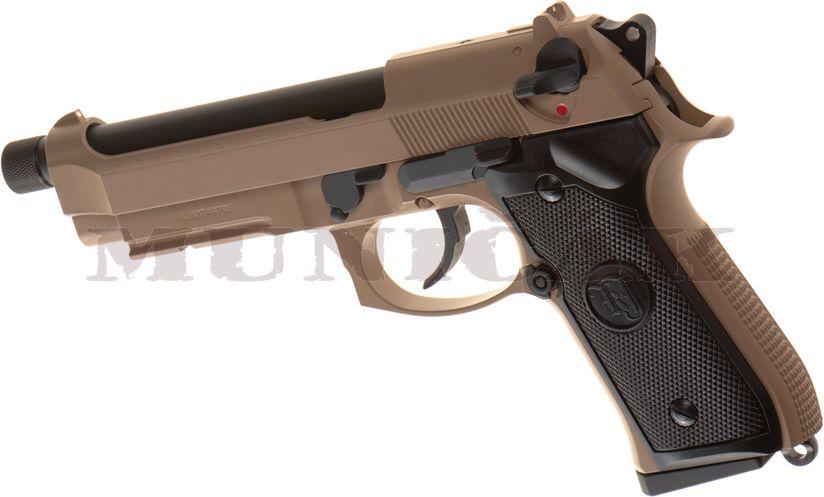 KJ GBB M9 A1 TBC Full Metal - tan