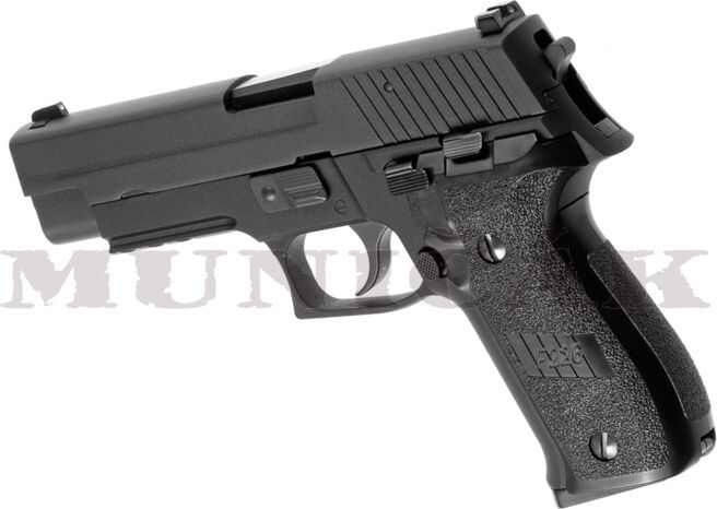 WE GBB P226R Full Metal - čierna