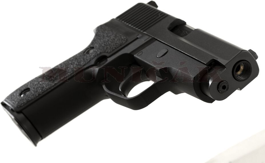 WE GBB P228 Full Metal - čierna
