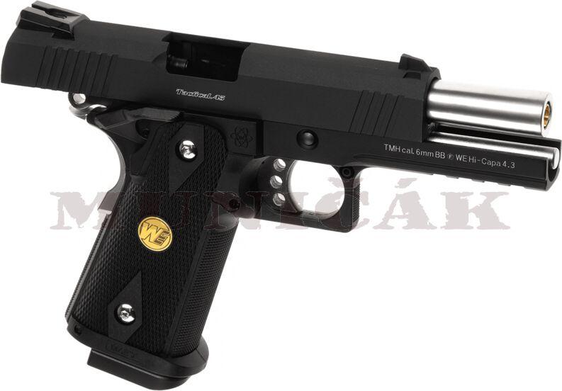 WE GBB Hi-Capa 4.3 OPS Full Metal - čierna