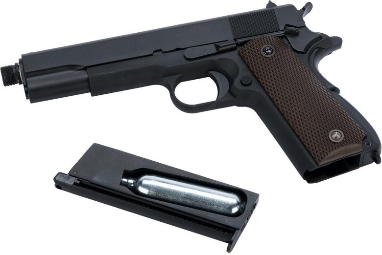 WE CO2 M1911A Gen. 2 - čierna
