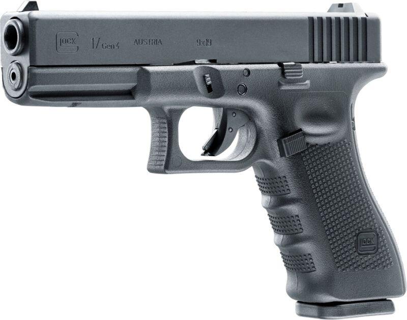 GLOCK 17 Gen 4 GBB, kal. 6mm, gas, čierna