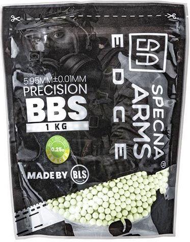 SPECNA ARMS BB BIO EDGE 0,25g / 4000ks / 1kg tracer green