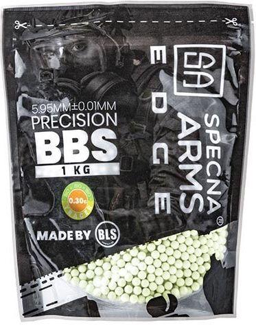 SPECNA ARMS BB BIO EDGE 0,30g / 3300ks / 1kg tracer green