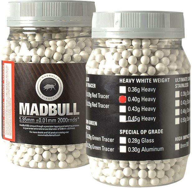 Madbull BB 0,40g 2000ks Precision - 1