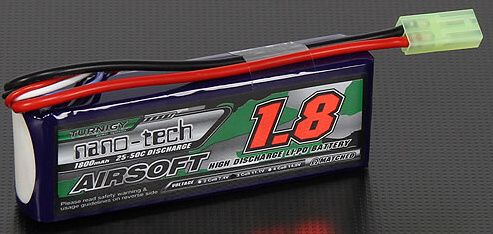 Turnigy LiPo batéria 11,1V 1800mah 3S 25-50C (1pack)