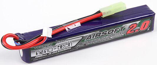 Turnigy LiPo batéria 7,4V 2000mah 2S 15-25C (1pack)