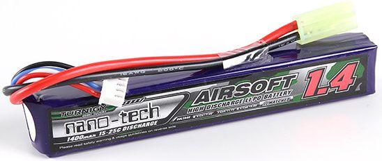 Turnigy LiPo batéria 11,1V 1400mah 3S 15-25C (1pack)