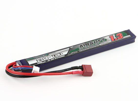 Turnigy LiPo batéria 7,4V 1300mah 2S 25-50C Tdean (1pack)