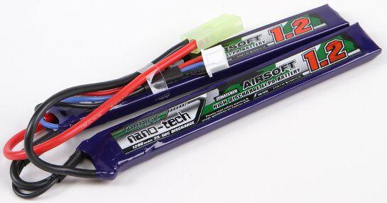 Turnigy LiPo batéria 7,4V 1200mah 2S 25-50C (2pack)