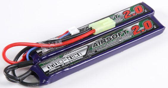 Turnigy LiPo batéria 7,4V 2000mah 2S 15-25C (2pack)