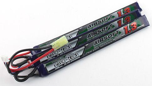 Turnigy LiPo batéria 11,1V 1300mah 3S 25-50C (3pack)