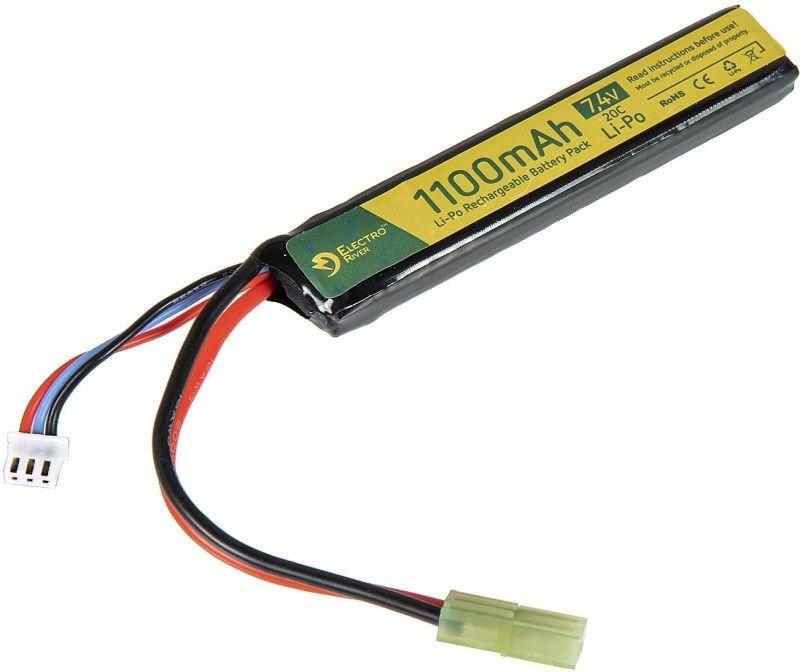 ELECTRO RIVER batéria 7.4V 1100mAh 2S 20C (1pack)