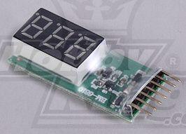 LiPo Battery Monitor 2-6S