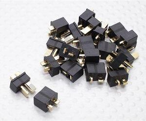 Mini T-konektor set, čierny