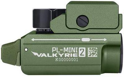 OLIGHT Svietidlo na pištoľ PL-Mini2 valkyrie 600lm limitovaná edicia - zelené (OL0587)