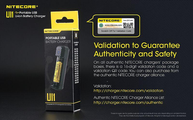 NITECORE Nabíjačka UI1 - USB (NCx-UI1)