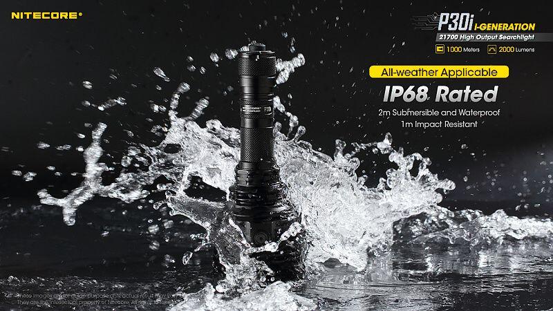 NITECORE Svietidlo P30i - čierne (NC-P30i)