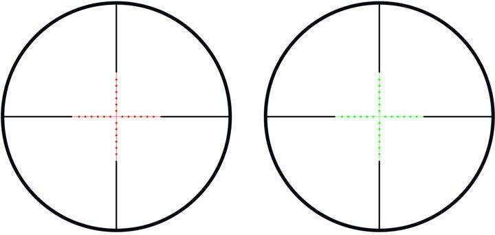 THETA OPTICS Puškohľad 3-9x50 AOEG, (THO-10-007864-00)