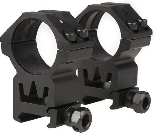 THETA OPTICS Montážne krúžky 30mm, vysoké, (THO-09-011615-00)